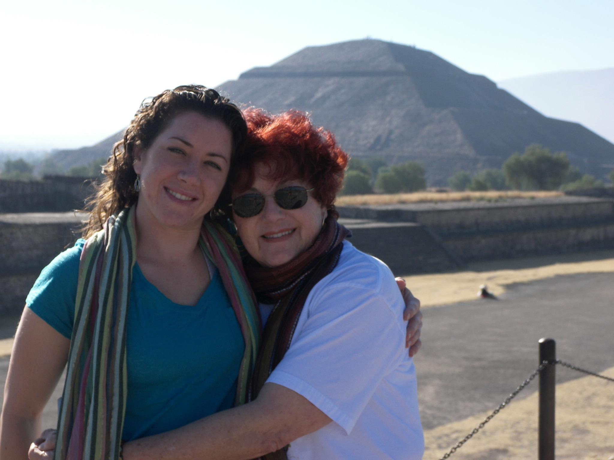 Katie & Kathleen in Mexico, joining Traverse next at Machu Picchu!