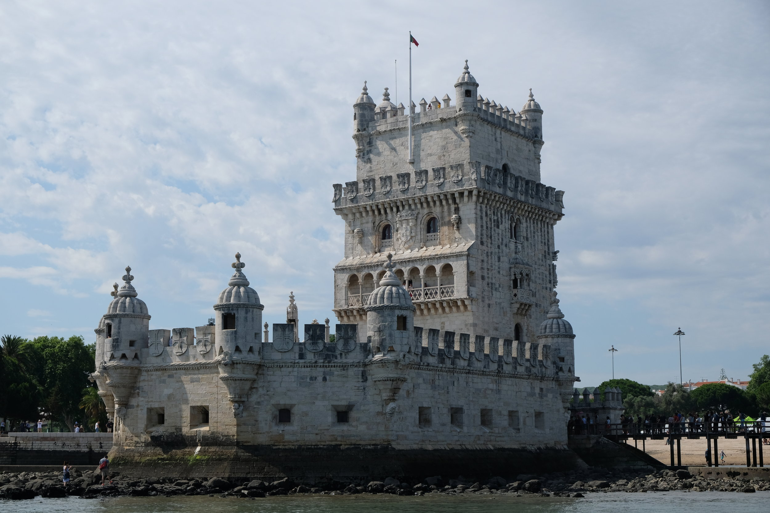A view of the Torre de Belem from the Rio Tejo. Photo credit: Belinda Birchall