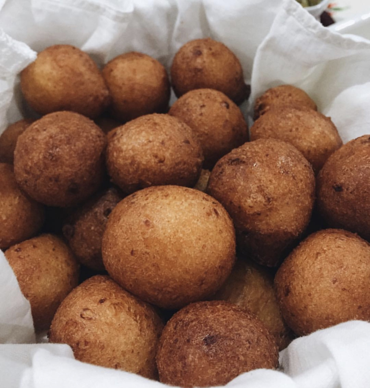 Buñuelos, delicious fried pastries popular in Latin America. Photo credit: Sophie Echeverry