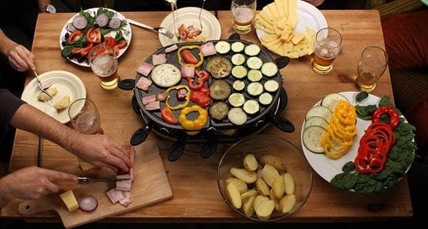 Gourmetten,  a Netherlands holiday tradition. Photo credit: Caitlinn van der Kunn