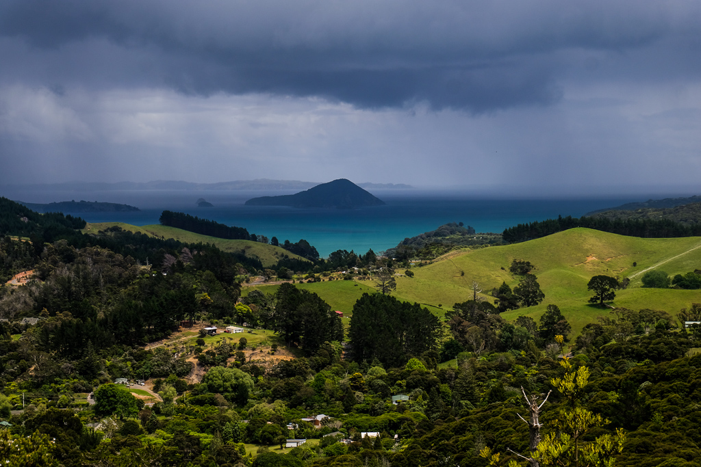 The intoxicating greens and blues of the Coromandel Peninsula. Photo Credit: Holly Brace