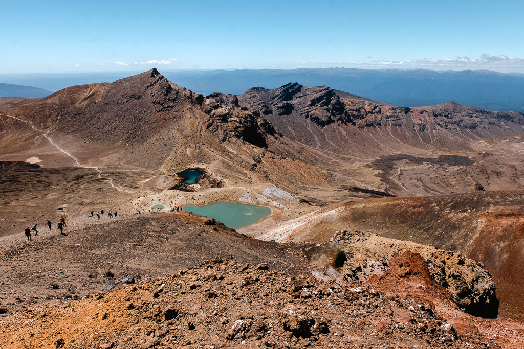 Other-worldly terrain of the Tongariro Crossing. Photo Credit: Holly Brace