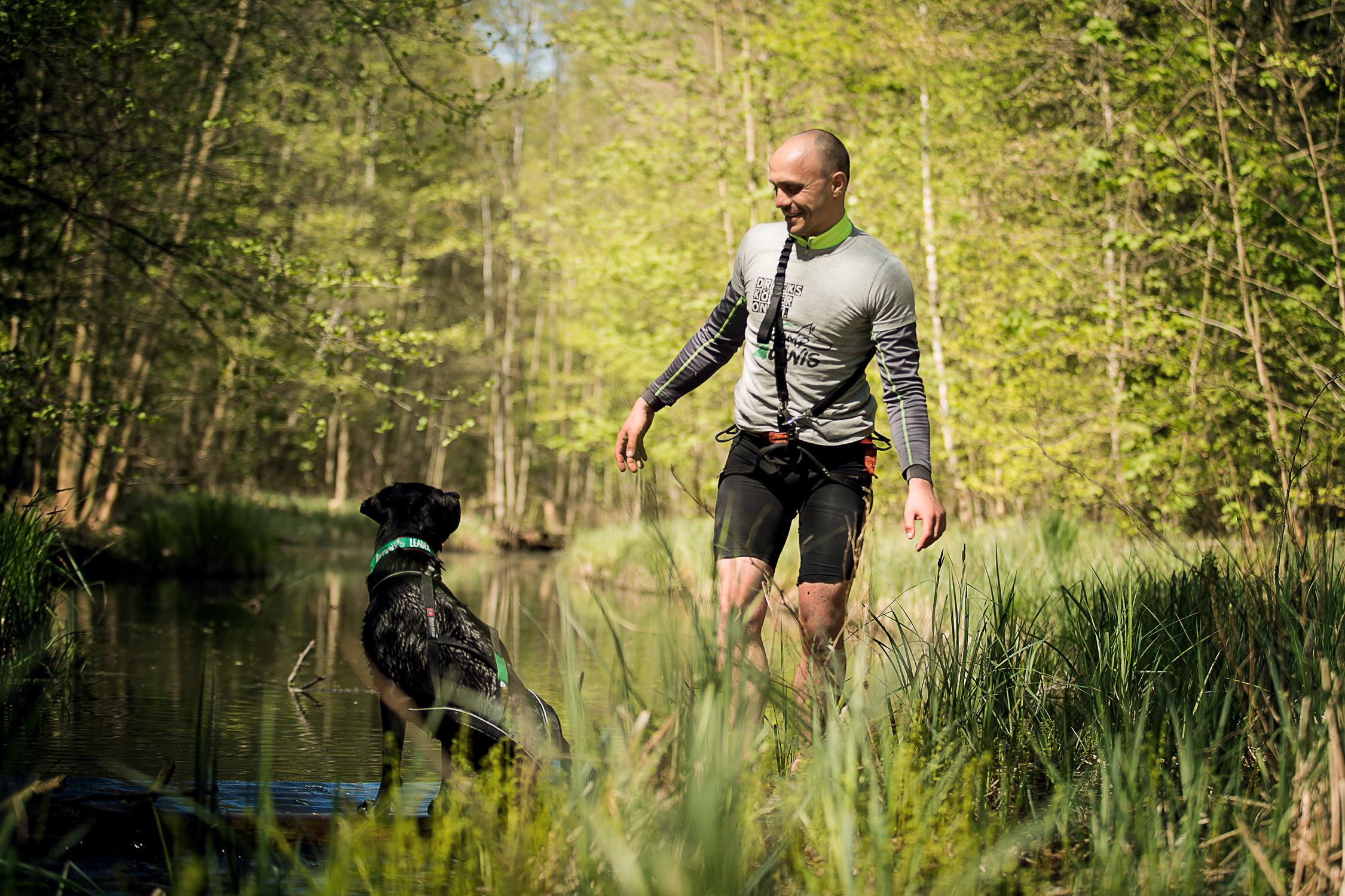 Camp Canis Challenge - Fluß