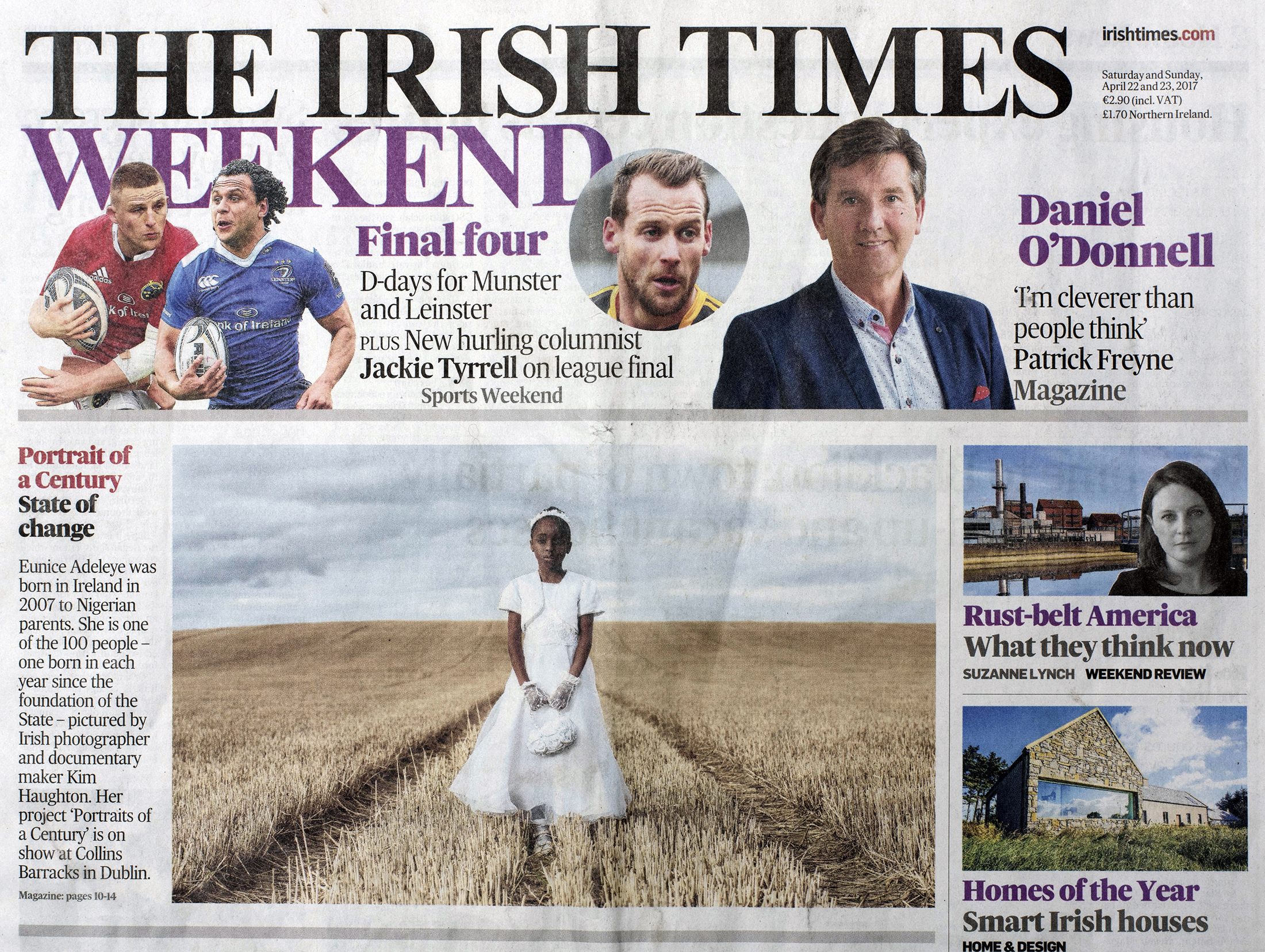 The Irish Times, Cover