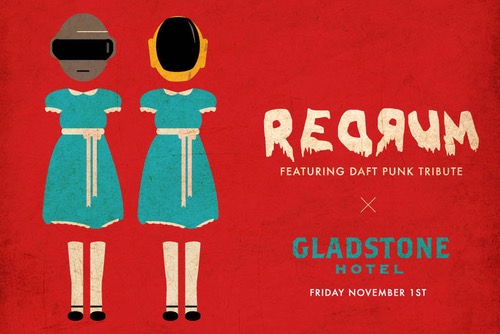 REDRUM at the Gladstone Hotel, a Shining Themed Halloween Event