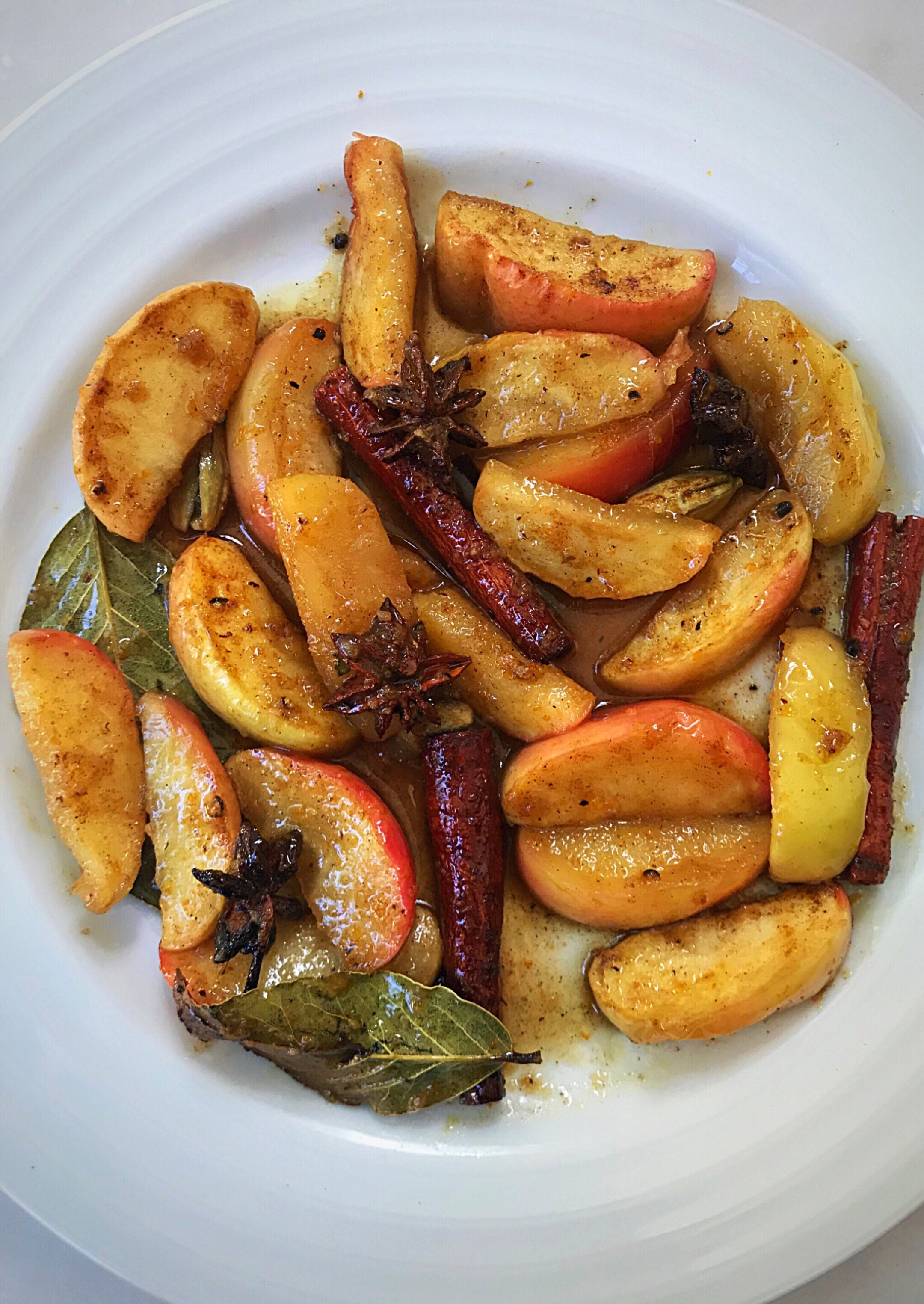 Roasted apples with thai aromatic spices.JPG