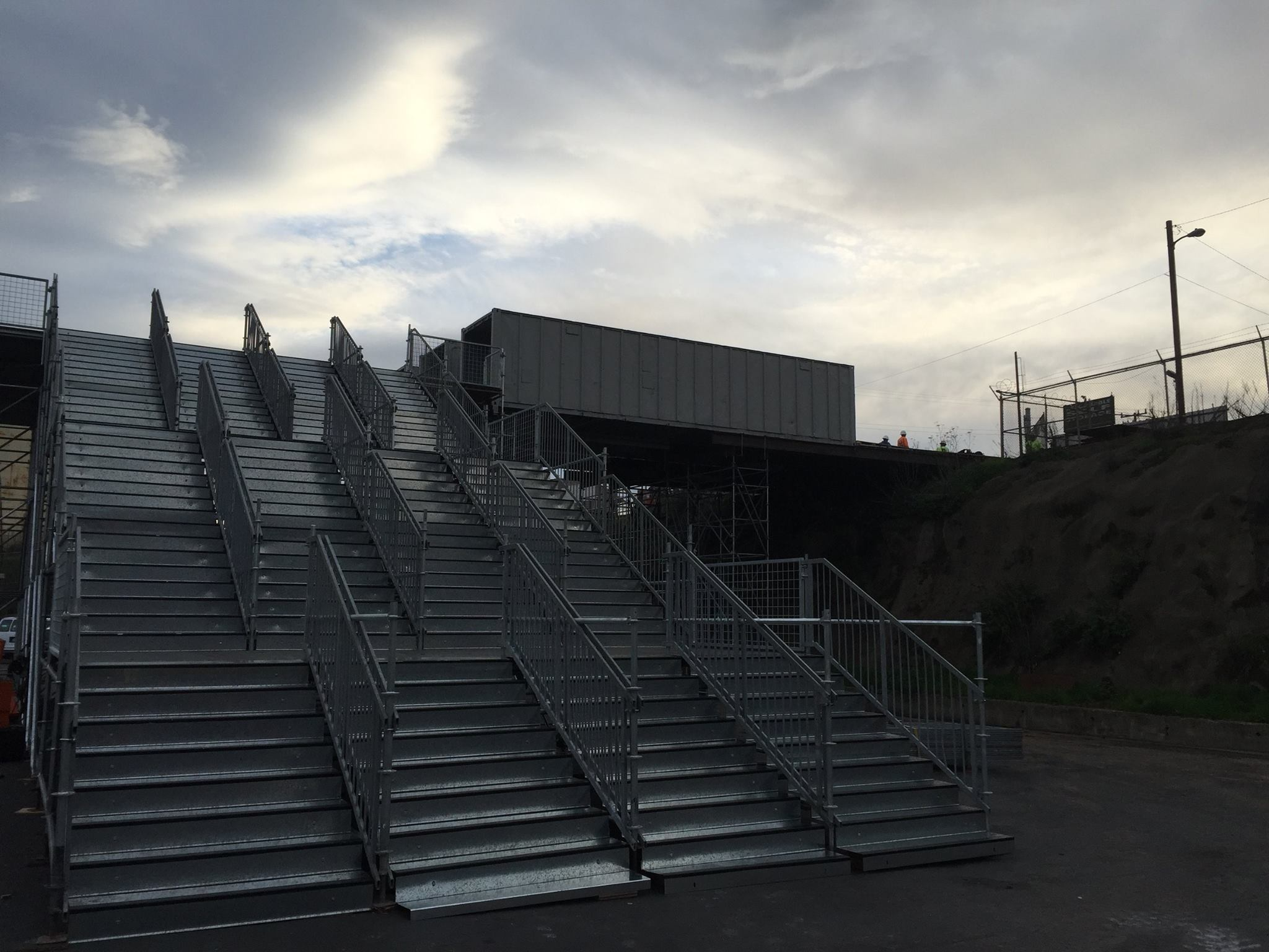 Access Stair and Bridge