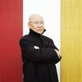 Park Seo-Bo talks painting and Takashi Murakami - Prestige Magazine