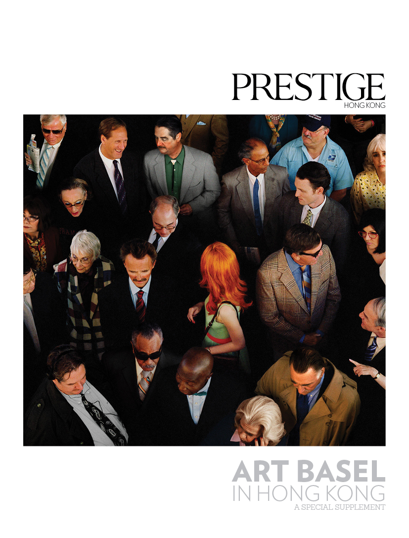 Special art supplement distributed at Art Basel in Hong Kong - EDITORIAL CONSULTANT, 2015