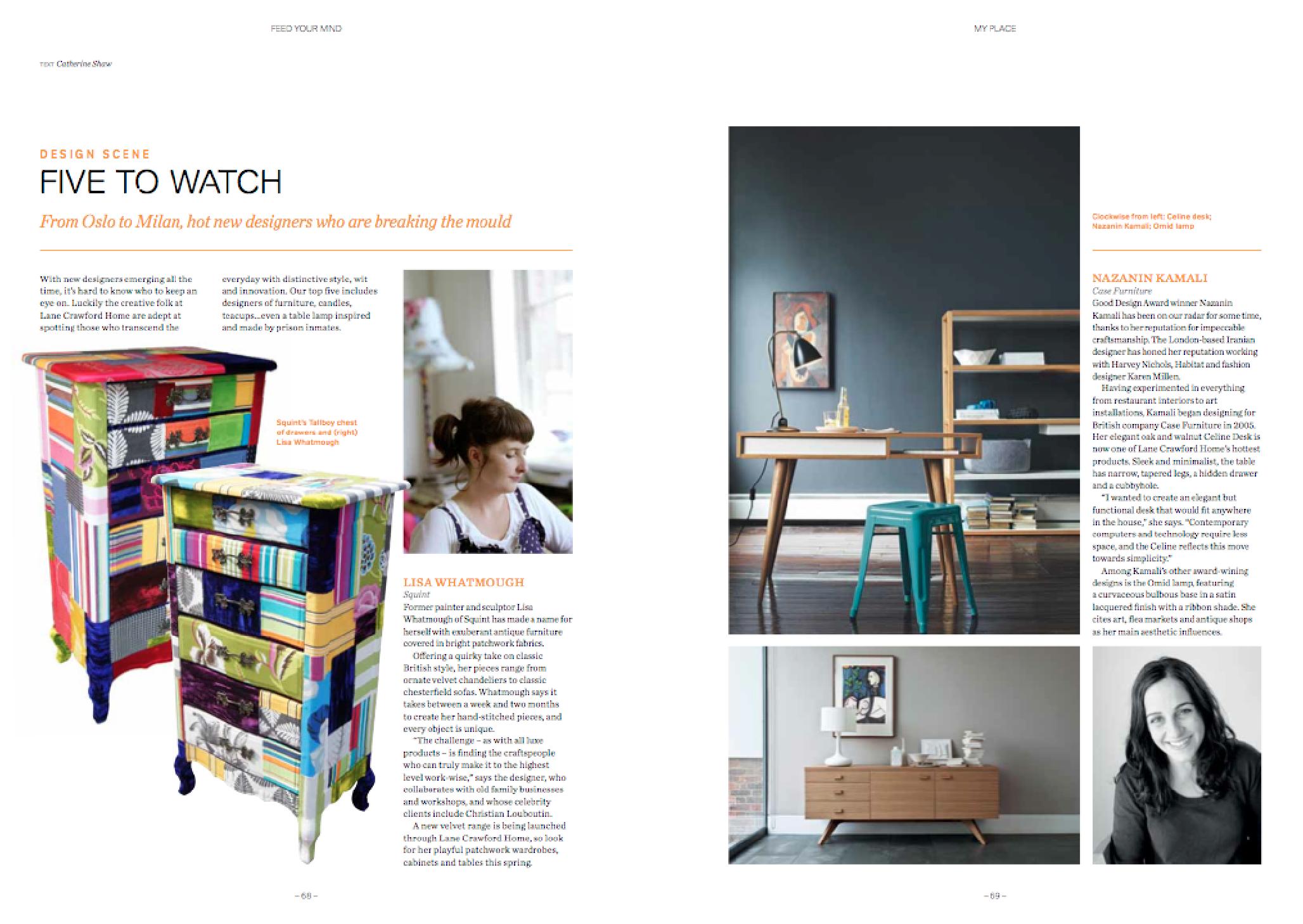 Design feature -