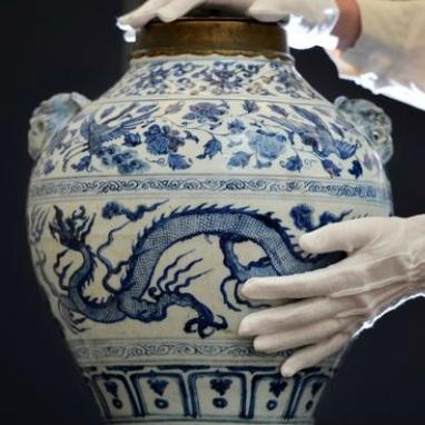 Trumps Tariffs Loom Large in Chinese Art Market - artsy