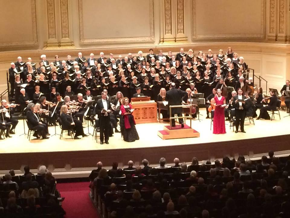 Handels's  Messiah.  Carnegie Hall, 2014. Masterwork Chorus and Orchestra: Andrew Megill, conductor.