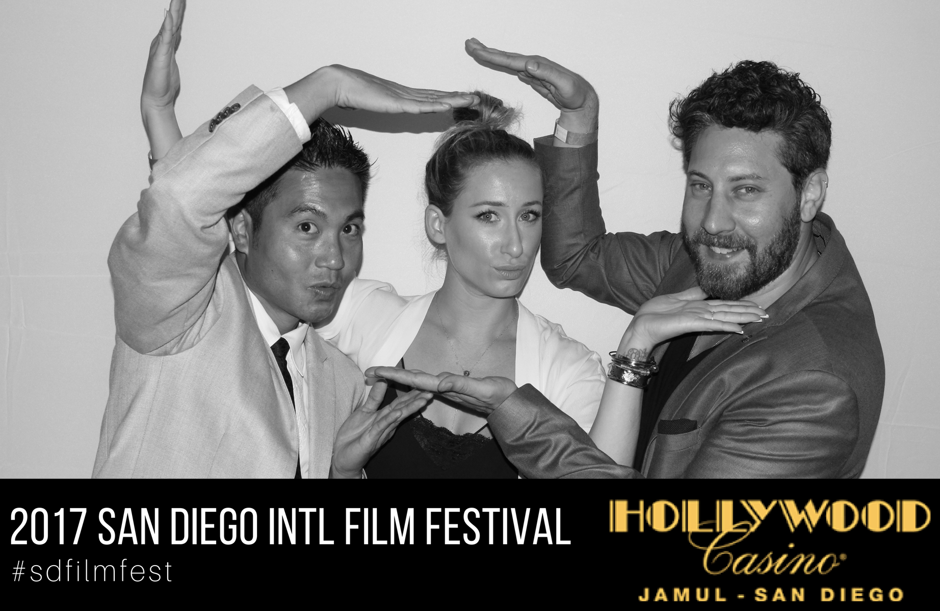 2017 San Diego International Film Festival Photo Booth images in Jamul - San Diego.