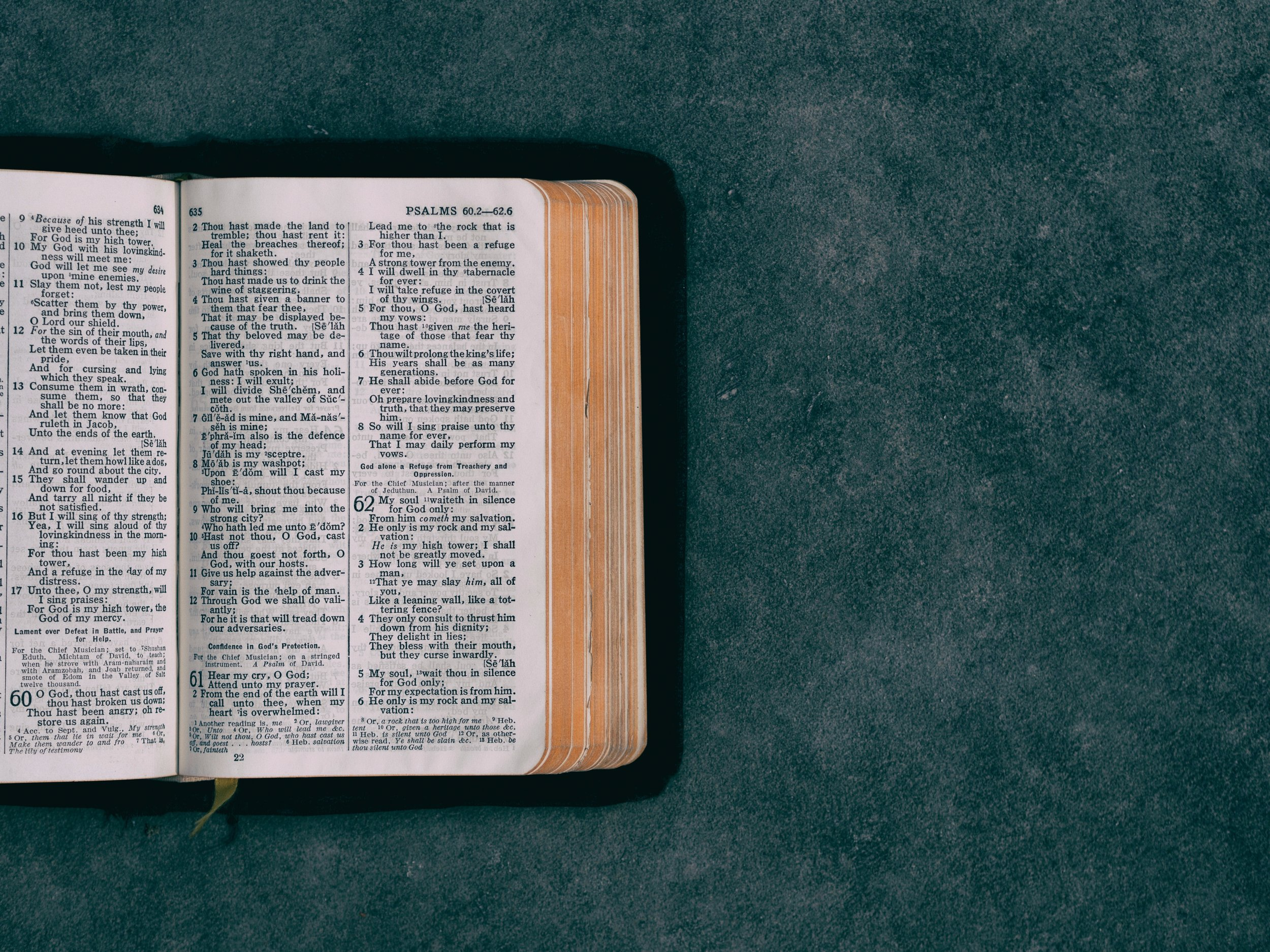 Special Editions - At times we utilize single session studies to cover special topics which are often prompted by questions, apologetics, and current events.