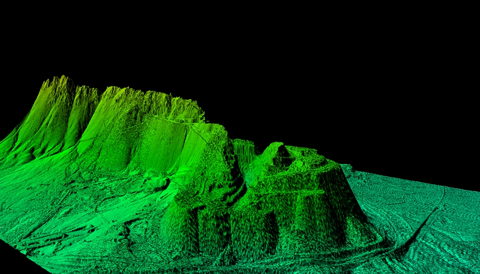 IMAO LIDAR POINTS CLOUD DTM