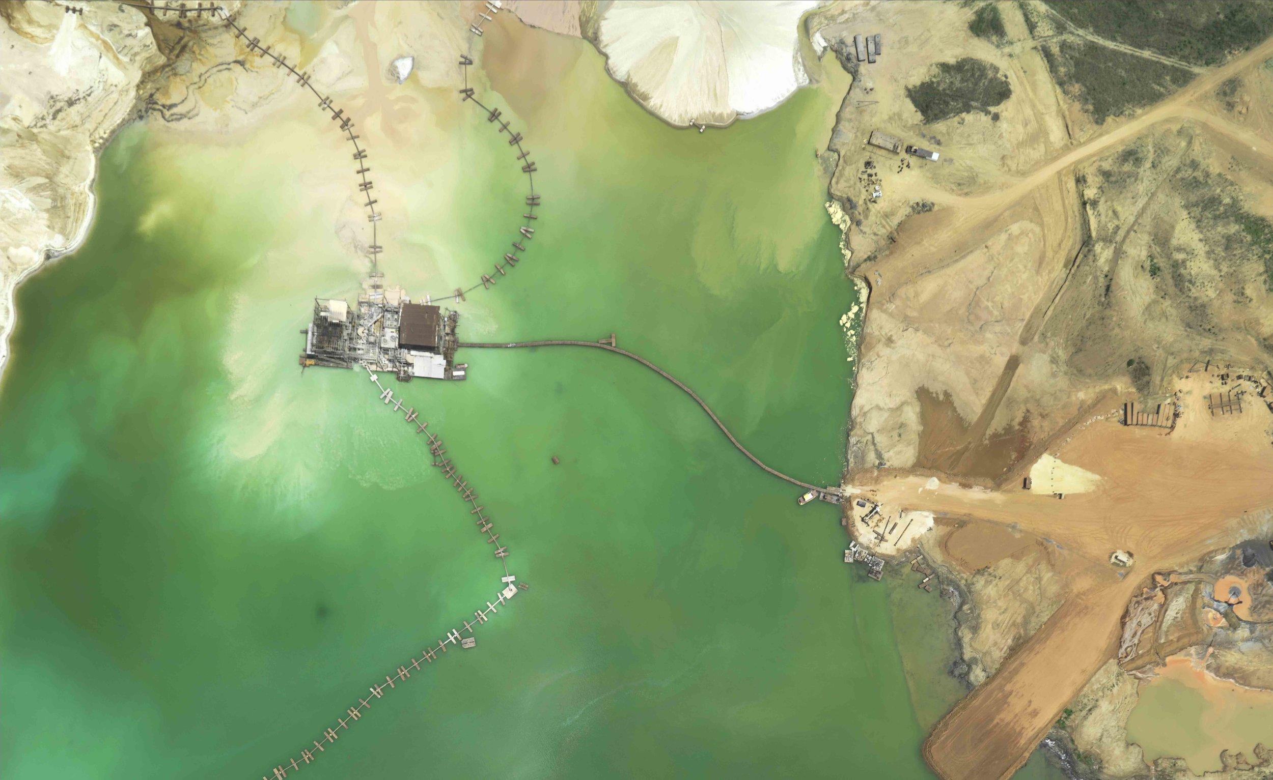 Mine in Sierra Leon