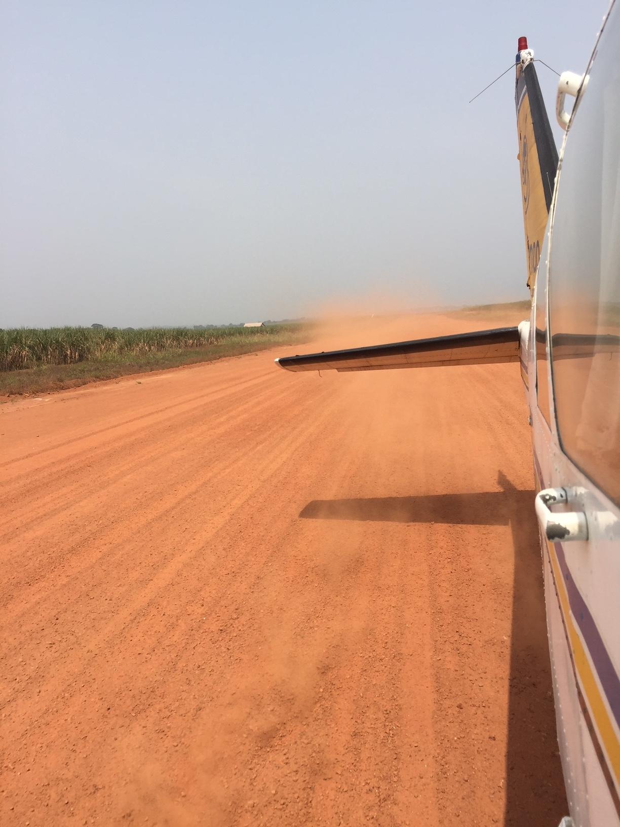 Runway in Cameroon