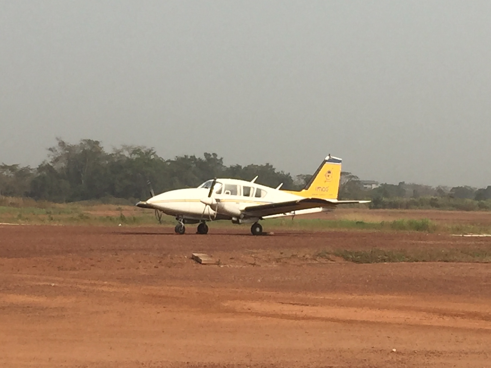 Aircraft parking