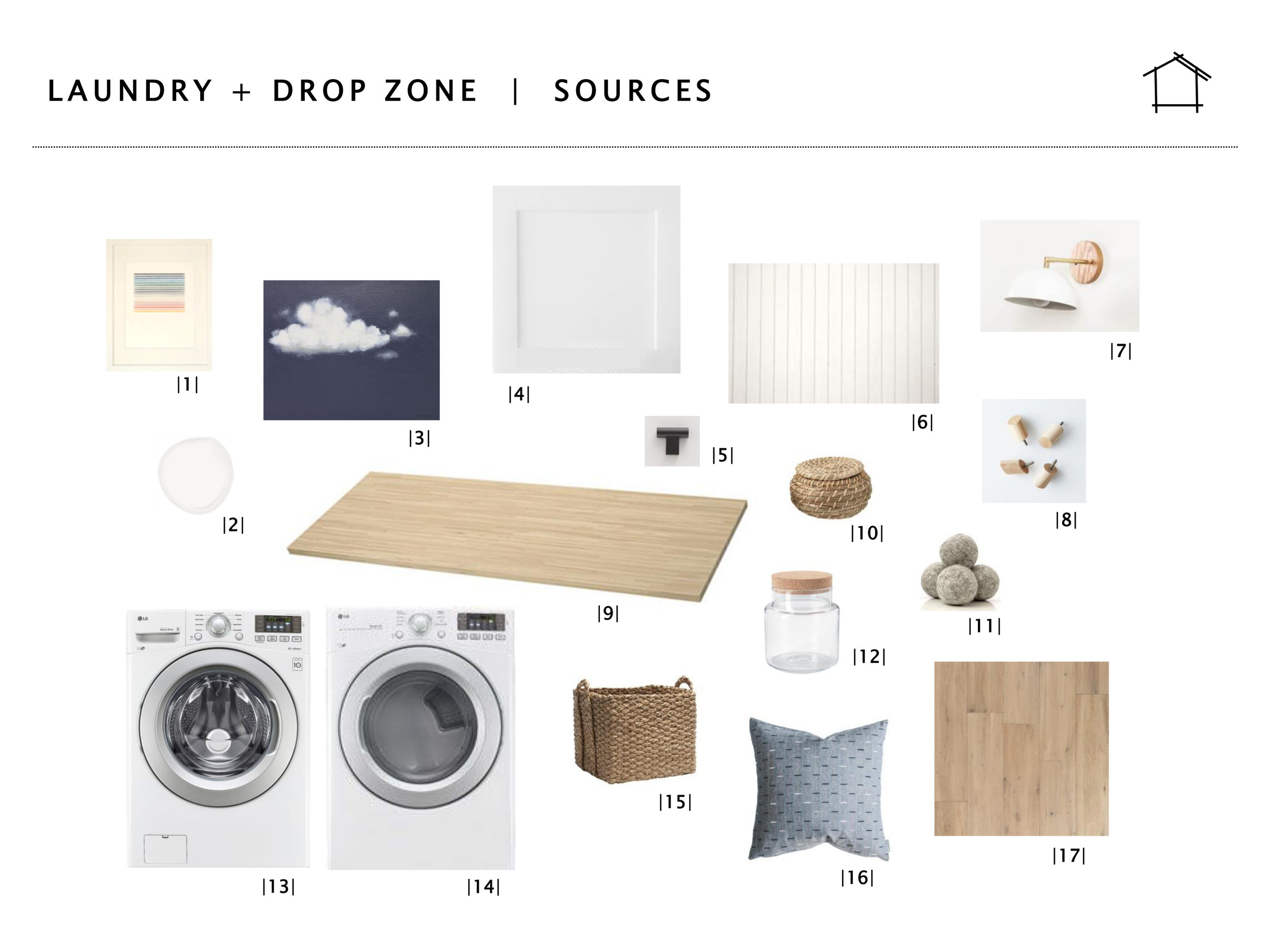 DAILY HOME CO. | Murray Bungalow | Laundry + Drop Zone -- Sources
