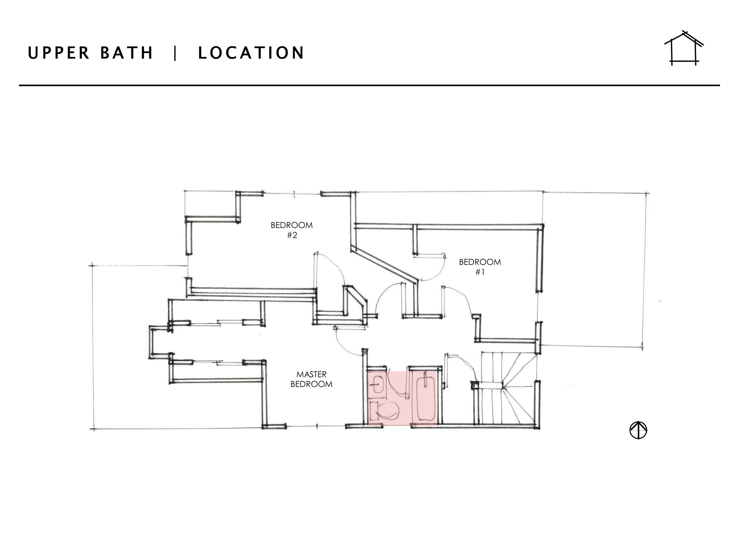 DAILY HOME CO.  |  Murray Bungalow  |  Upper Bath -- Location
