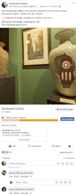 A 360° photo ad we made for Ambleside Art Gallery.