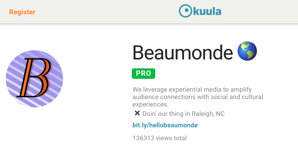 Kuula is great for sharing 360° pictures and content!