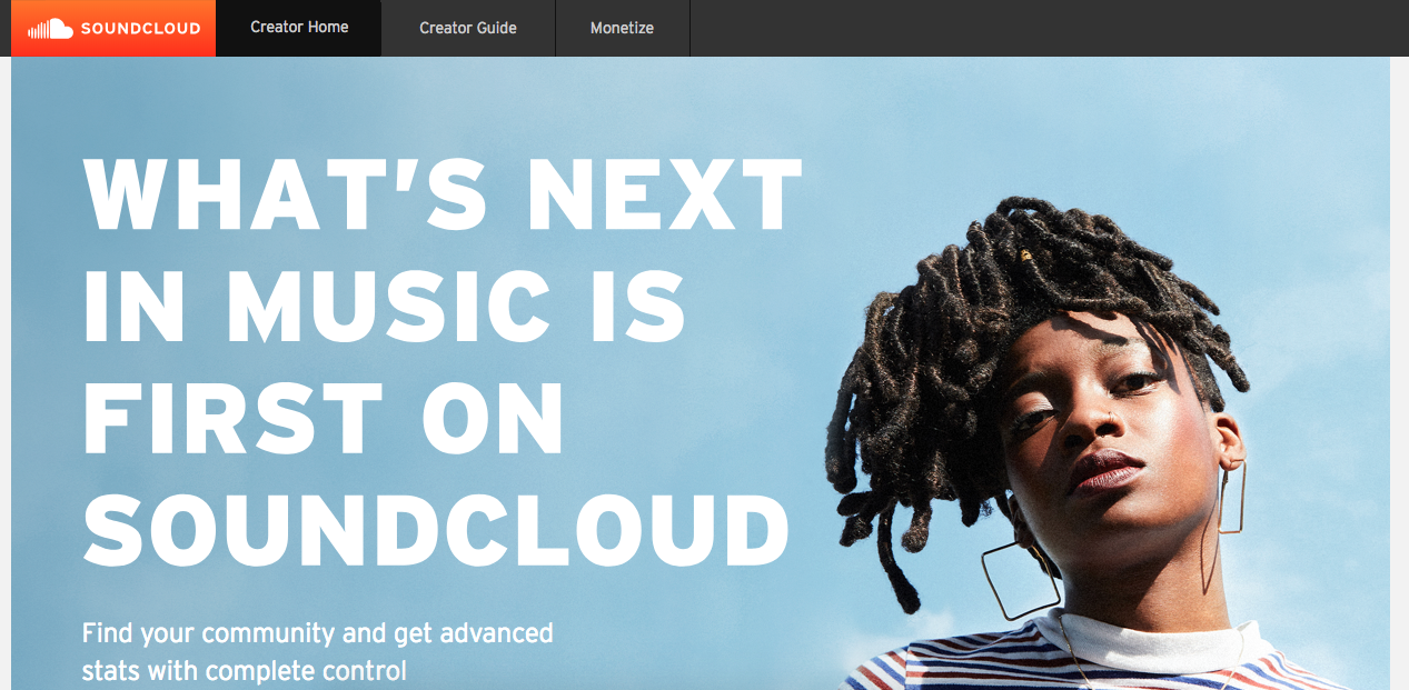 Use Soundcloud for music promotion!