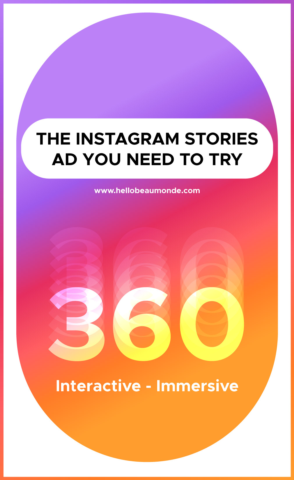 360° Instagram Stories Ad [New Marketing Strategy For 2019