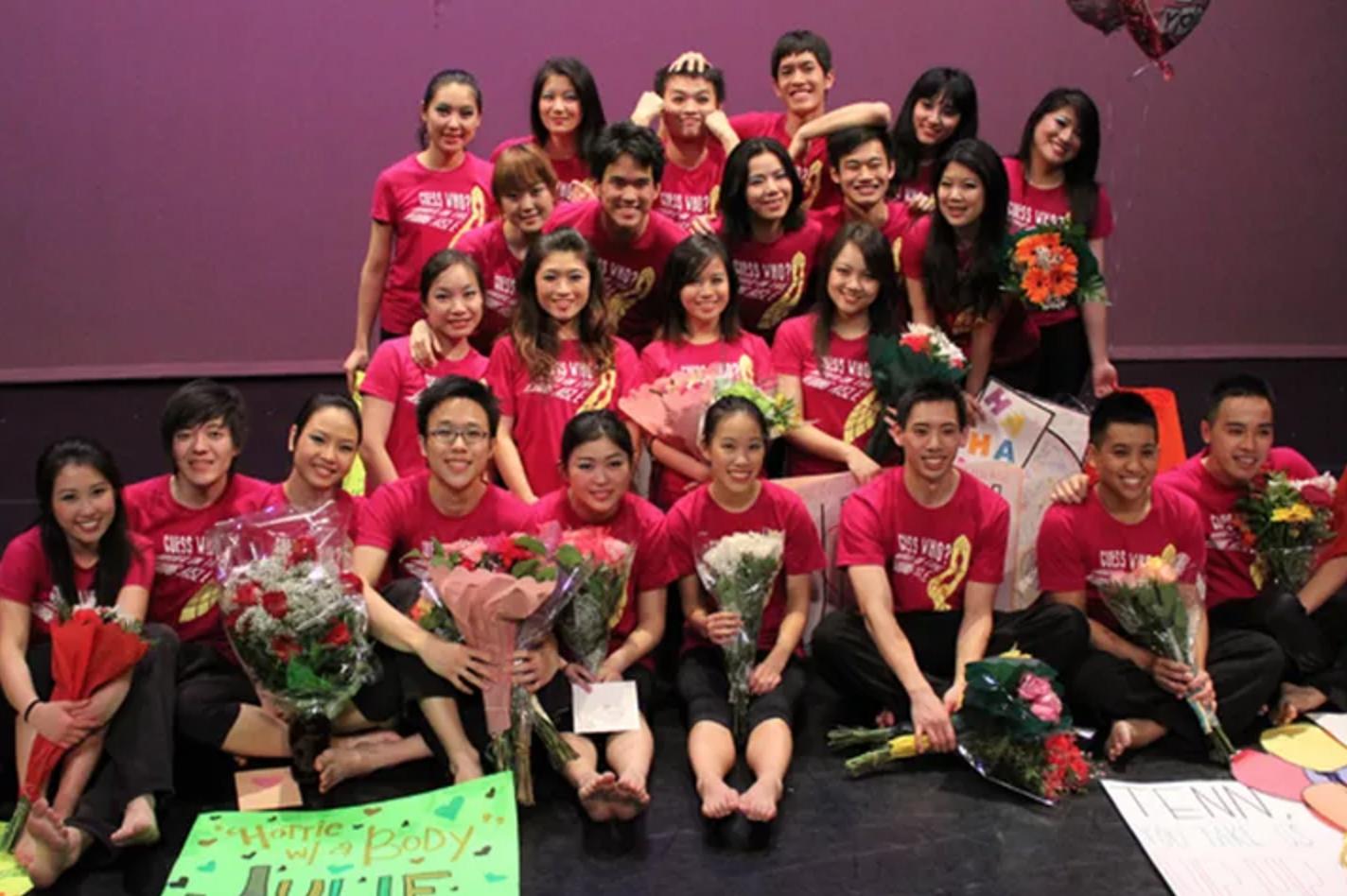 Class of 2012 - Annie Lee, Brian Chiang, Eve Lee, Julie Hoang, Michelle Fang, Nop Jiarathanakul, Teddy Zhang, Tenn Nuchkasem, Thang Thai