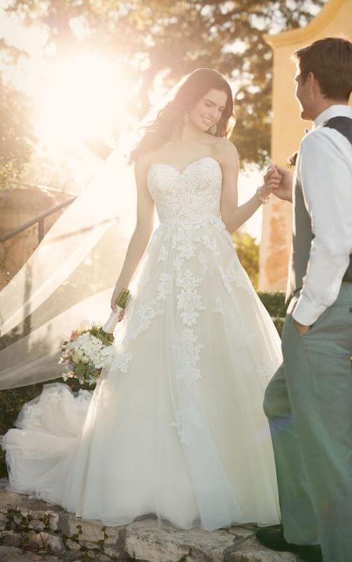 Essense of Australia Wedding Dress Vancouver Washington
