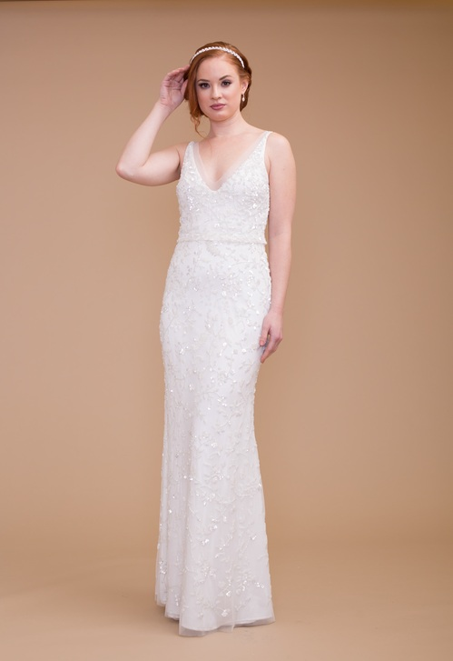 Chic Nostalgia Wedding Dress 1
