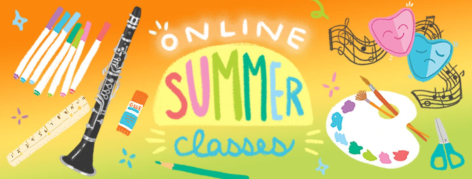 Online Summer Classes 2020 — The Rye Arts Center