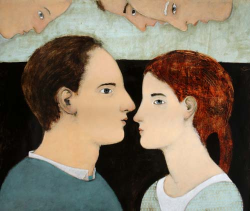 Lovers with three ideas