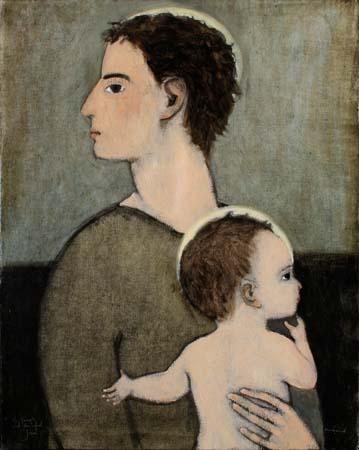 St. Joseph and the infant Jesus