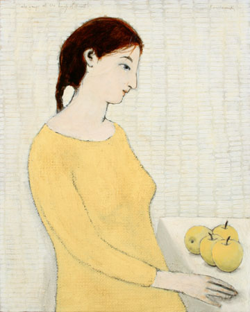 she weeps at the beauty of fruit