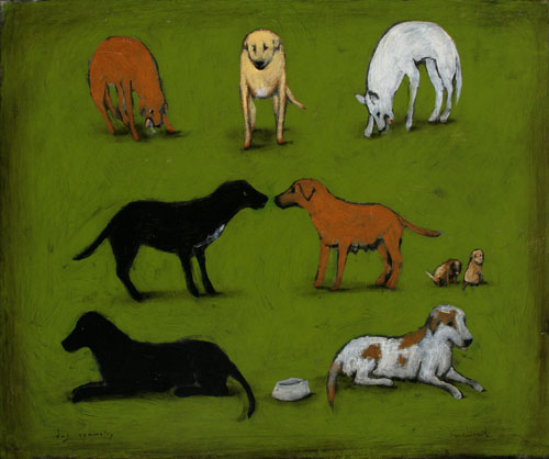 dog symmetry