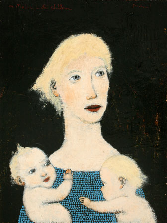 a Mother with children