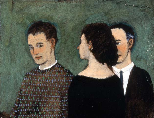self portrait with anonymous donors