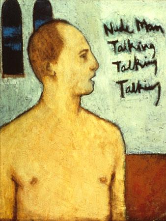 Nude Man Talking Talking Talking