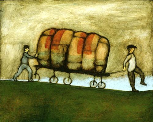 Burden on wheels