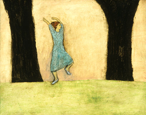 Dancing in the space between trees