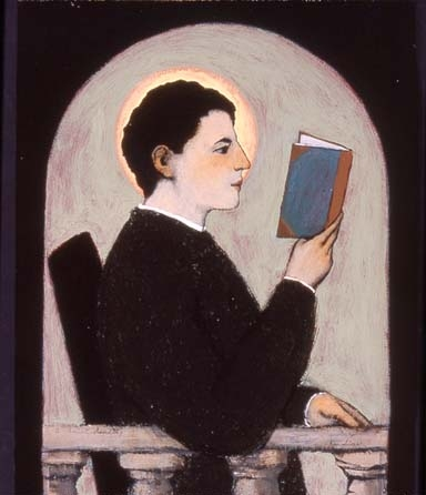 A Saint Reading