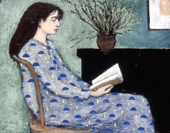 Suzanne reading