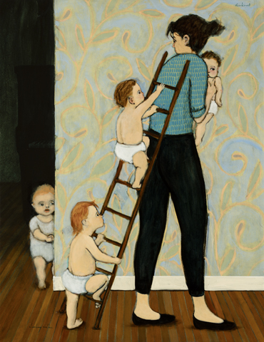 climbing mother