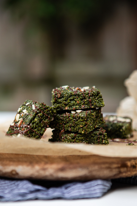 green protein bars