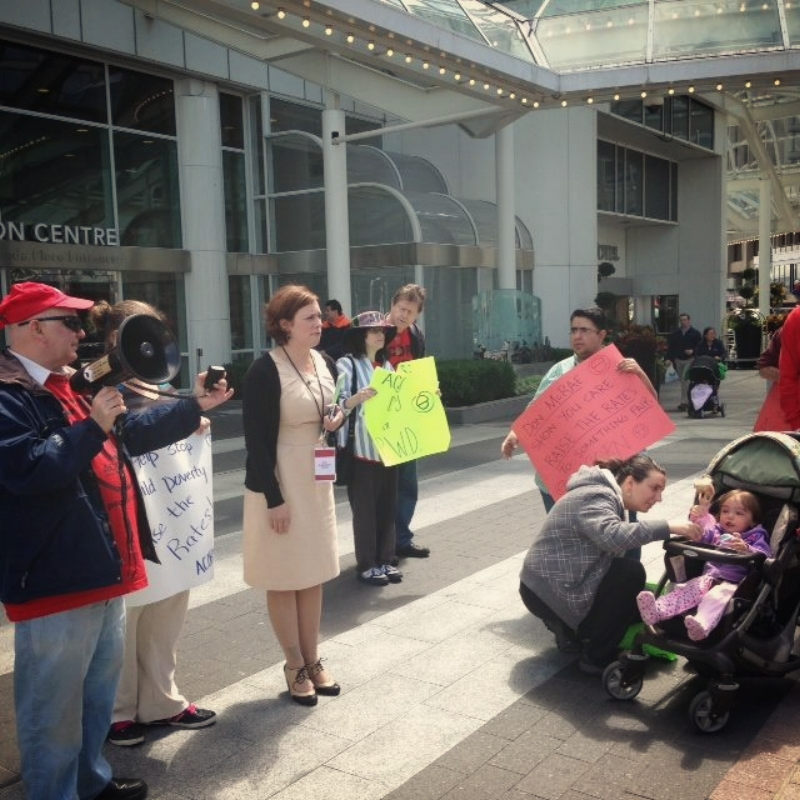 MLA Michelle Mungall encourages single mothers they can win this fight!