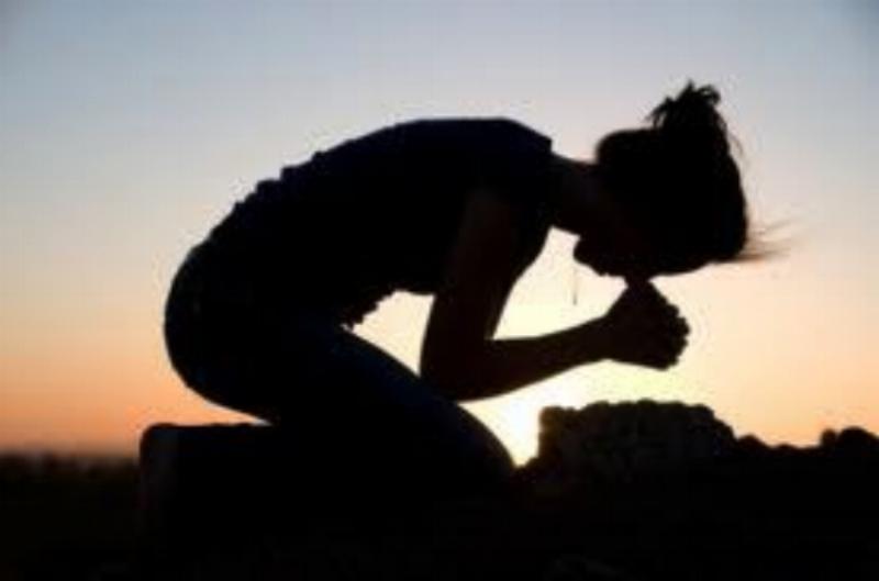 I prayed.
