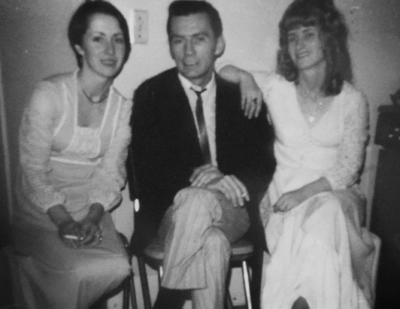 My father, Fred with his sisters Helen & Josie