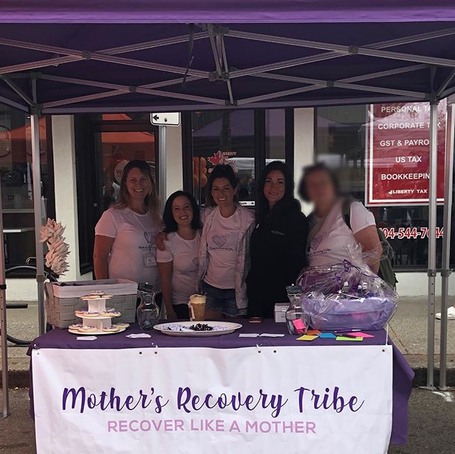 Recovery Day was a HUGE success for Mother's Recovery Tribe!!! We were able to connect with our Mamas and watch them lead with confidence 💪🏼 sharing about how MRT has helped them on their chosen path of recovery 💜 This events was a great success for MRT, including making connections with organizations who want to work with us and support our vision. Thank you to our Sponsors who made this event possible 💜💜💜 #recovery #recoverytribe #recoverysisters #mothersrecoverytribe #recoverlikeamother #sober #grateful #purpose #passion #mothers #recoverydaybc