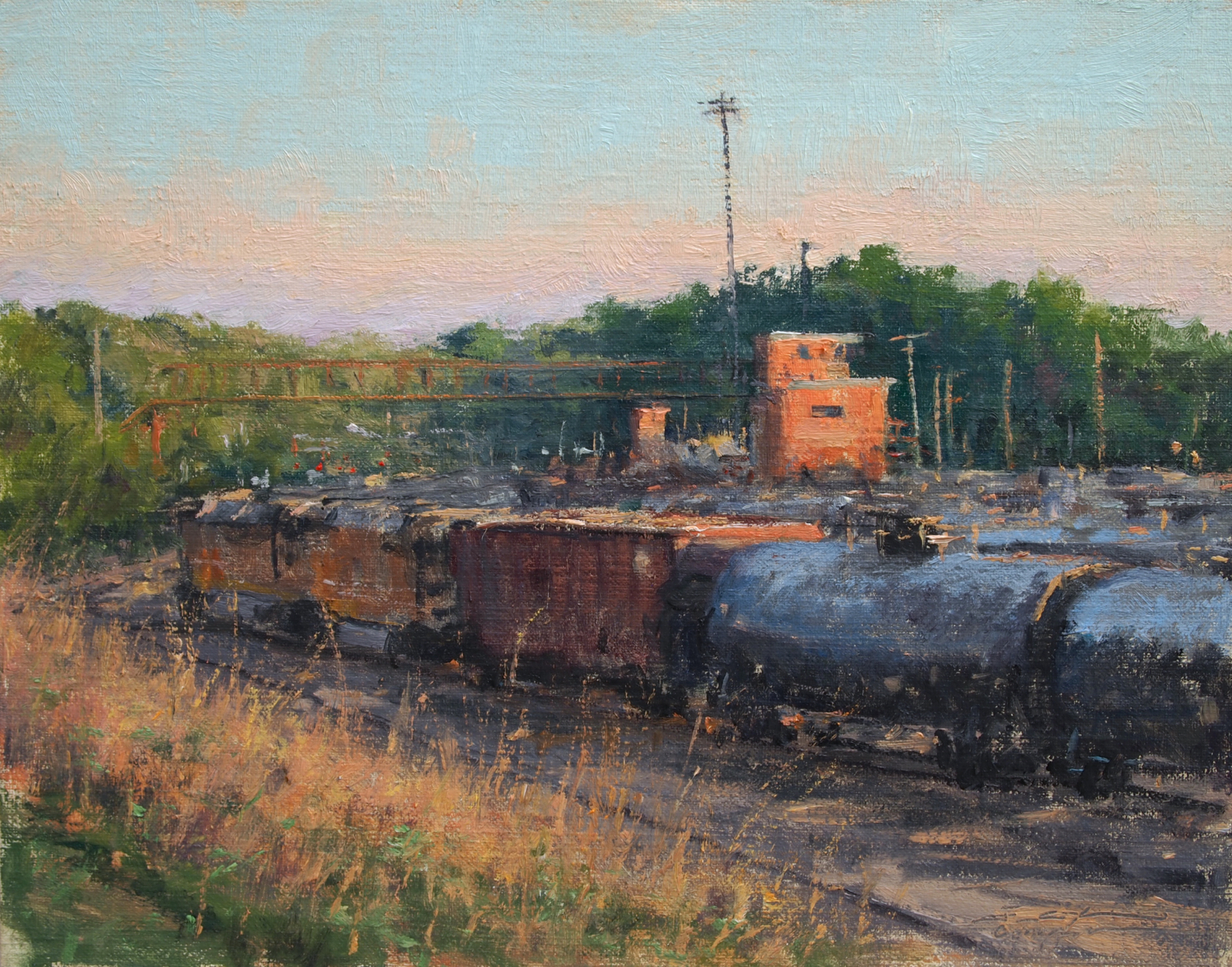 Evening in the St Paul Yard